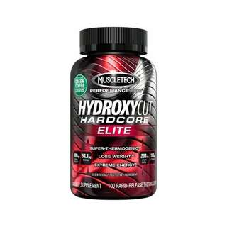 Muscletech Hydroxycut Hardcore Elite - 110 Kapsel