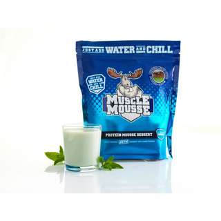 Muscle Moose Protein Mousse Dessert - 750g - Bubbly Mint Choc