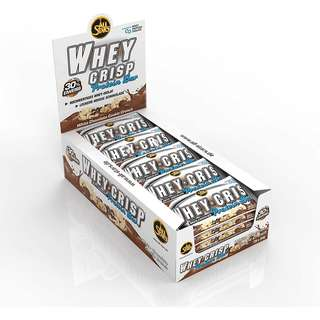 All Stars Whey Crisp Bar 25x 50g Display *NEU
