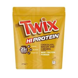 Twix Hi Protein Powder 875g - Choco Biscuit and Caramel