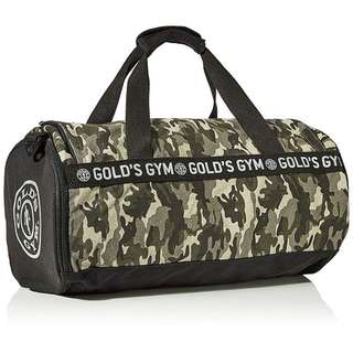 Gold´s - Gym Camo Barrel Bag