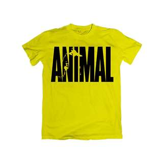 Universal Animal T-Shirt Iconic yellow