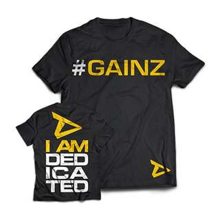Dedicated T-Shirt #Gainz