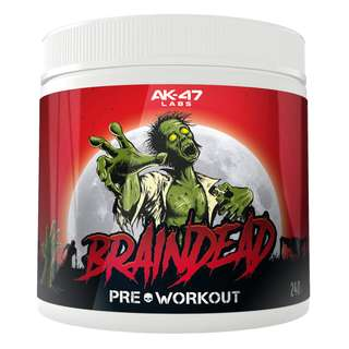 AK47 Labs Pre-Workout Braindead 240g fruit punch