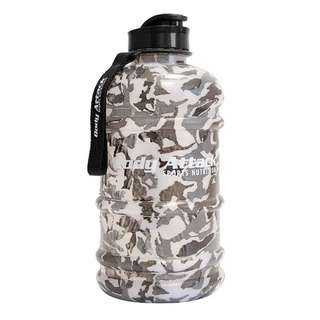 Body Attack Water Bottle XXL - Wasserflasche 2,2L Camouflage