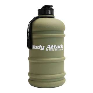 Body Attack Water Bottle XXL - Wasserflasche 2,2L Nato green