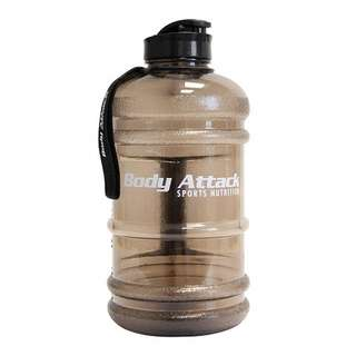 Body Attack Water Bottle XXL - Wasserflasche 2,2L Grey