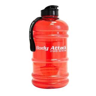 Body Attack Water Bottle XXL - Wasserflasche 2,2L Red