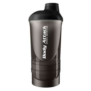 Body Attack Shaker ShakeOne 600ml Schwarz